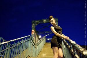 Fashion night, ritratto fotografico, fotografia di moda