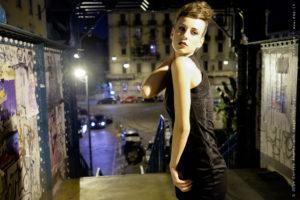 Ritratti fotografici, fotografia di moda, foto notturna