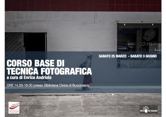 Corso di fotografia base | edizione primavera 2017