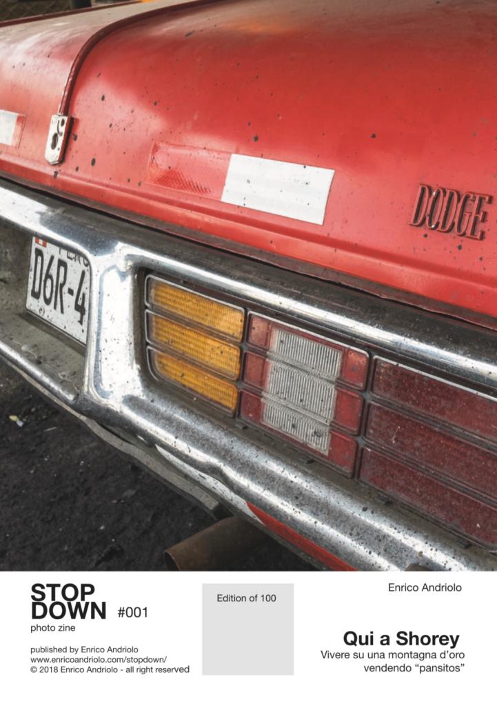 Stop Down fanzine fotografica. Pubblicazioni - libri - fanzine